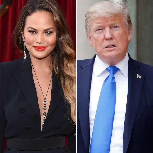 Donald Trump blocks Chrissy Teigen on Twitter