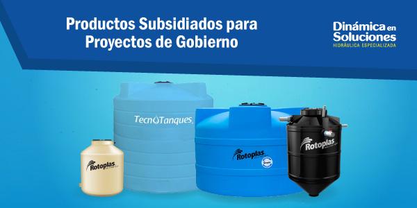 Productos subsidiados por el gobierno