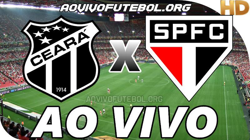 Ceará x São Paulo Ao Vivo HD Premiere