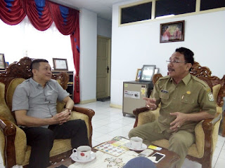Sofian Tjandra Audiensi Bersama Kepala Dinas Pendidikan Provinsi Kalimantan Barat
