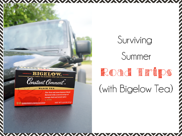 Surviving Summer Road Trips {with Bigelow Tea} #AmericasTea #shop #CollectiveBias