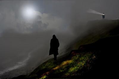 Resultado de imagen para acantilados de noche