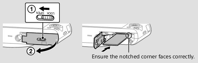 sony digital still camera instruction manual
