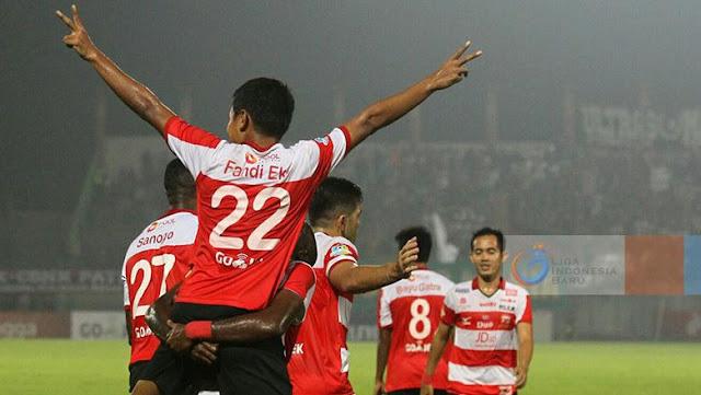Puncaki Klasemen, Madura United Belum Pikirkan Kemungkinan Juara