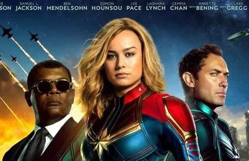 Captain Marvel Menguasi Box Office