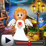 G4K Cute Angel Rescue Gam…