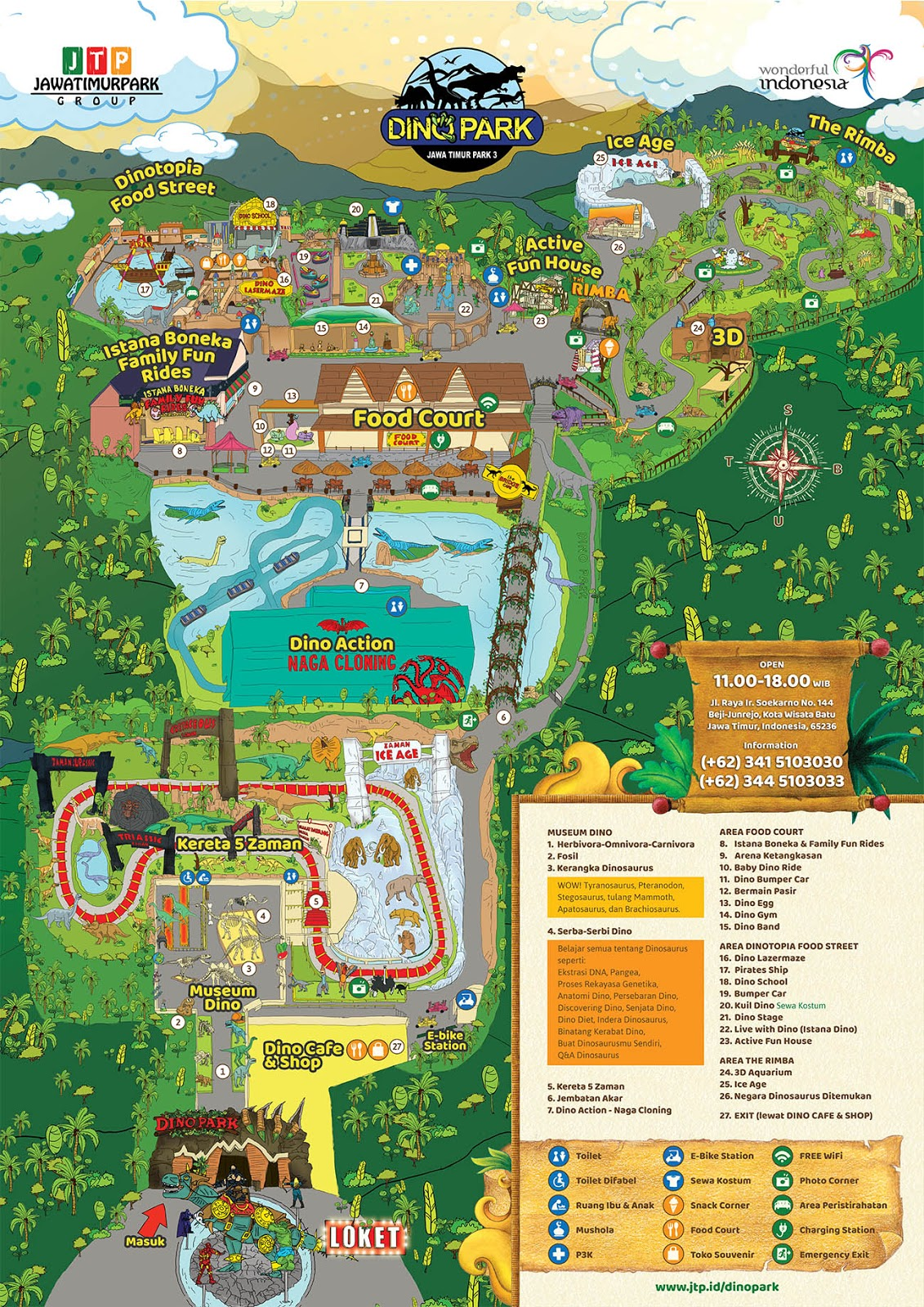 Harga Tiket Masuk Jatim Park 3 Terbaru S D Desember 2019 Titik Wisata