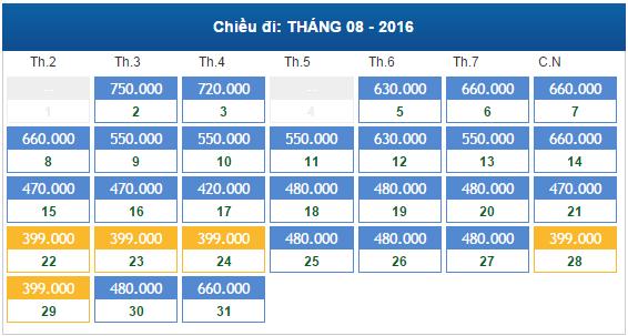 Vé máy bay giá rẻ đi Huế Tháng 8