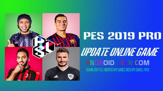 PES 2019 PRO.3.3.1 APK + Data [Final Version Online]