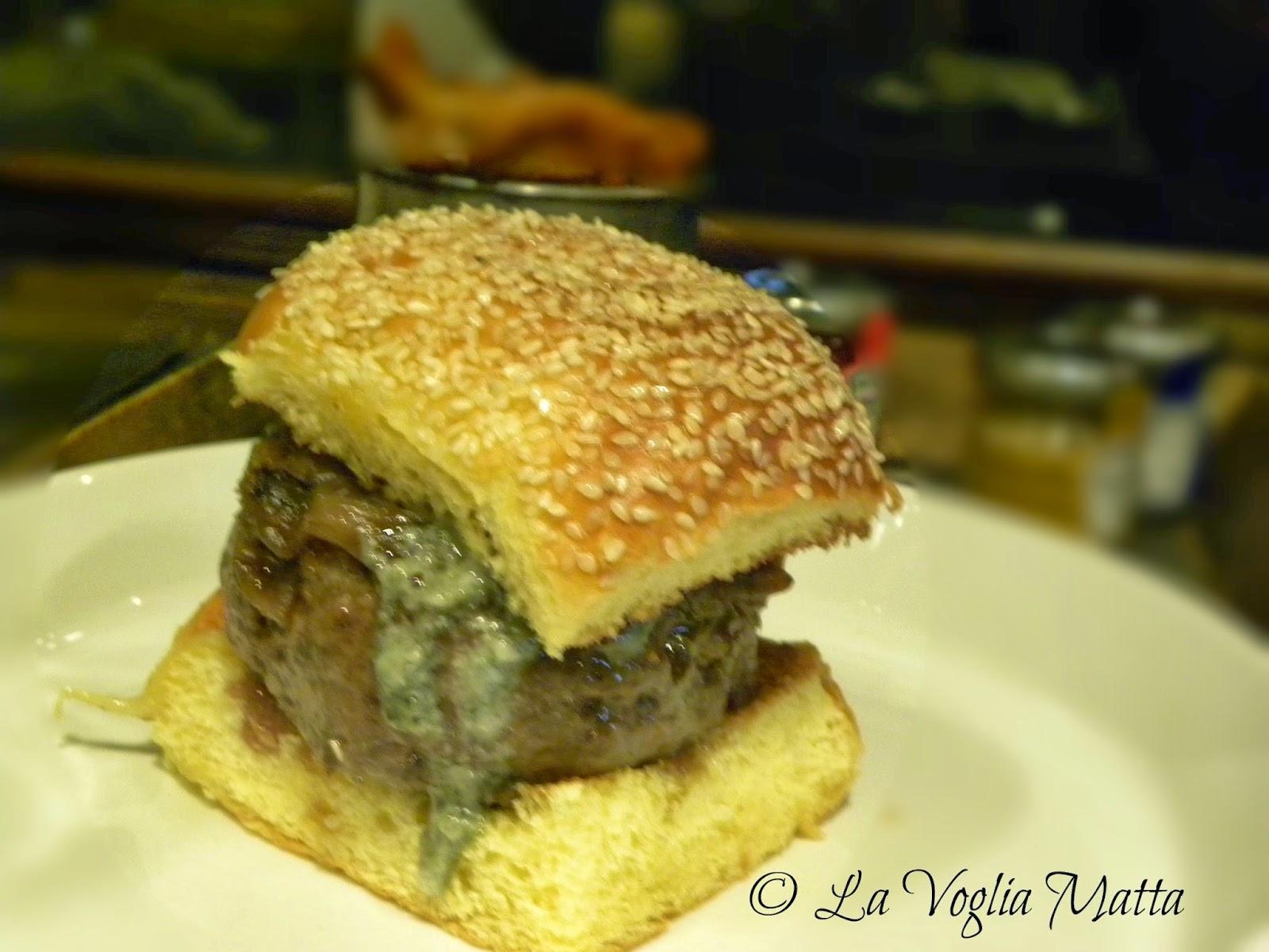 Orsone calabron burger