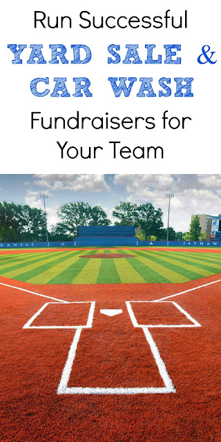 How to run a successful yard sale or car wash fundraiser for your team