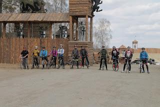 Выезд велосипедистов