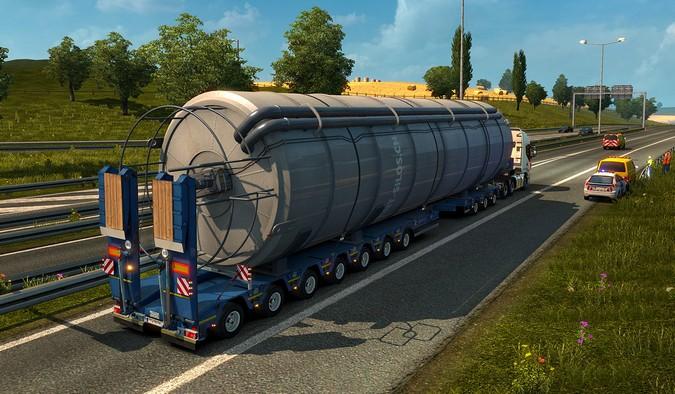 SCS Software lança pacote de cargas especiais para o Euro Truck Simulator 2