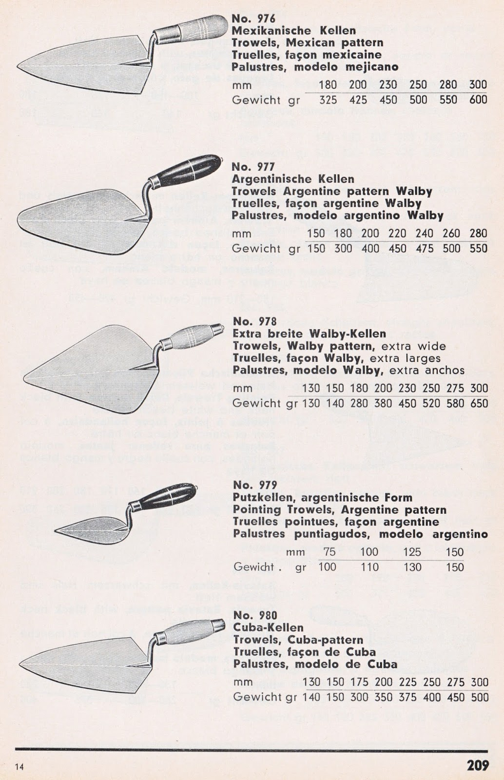 Masonry Trowel Types : Trowel and masonry tool collector resource lohmann co