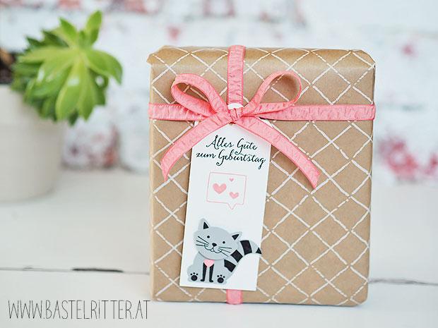 foxy friends tag anhaenger geschenk gift stampin up bastelritter katze