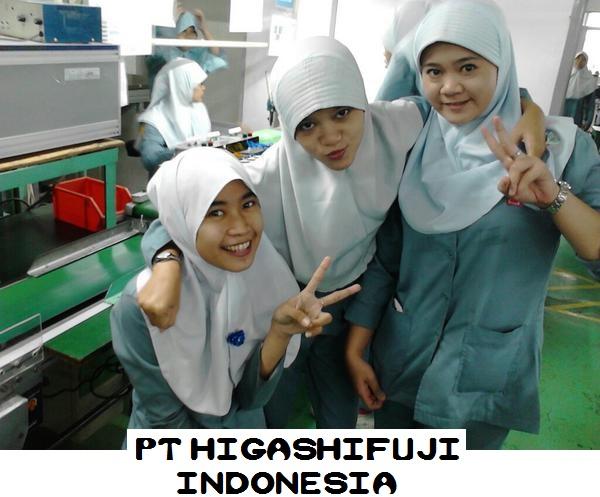 PT.Higashifuji Indonesia di Kawasan MM2100 Membuka Lowongan Kerja Operator Produksi