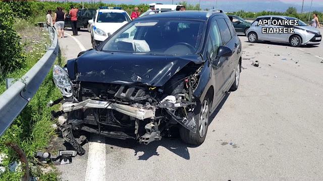 Μικρή μείωση των τροχαίων ατυχημάτων των Οκτώβριο στην Πελοπόννησο
