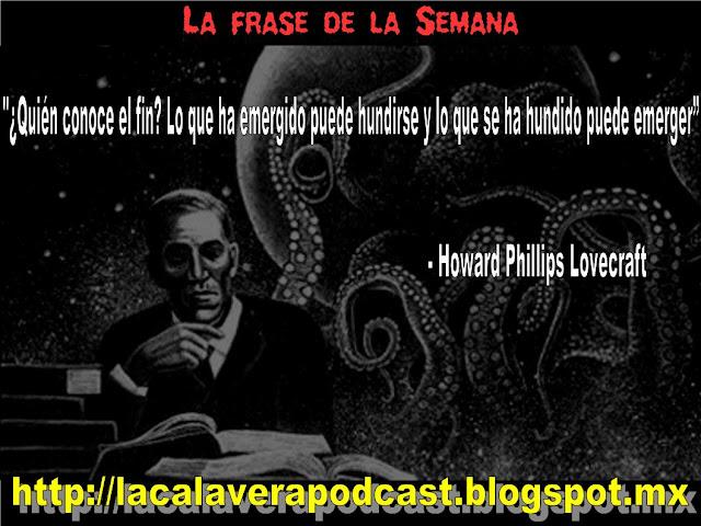 un gran frase de Lovecraft