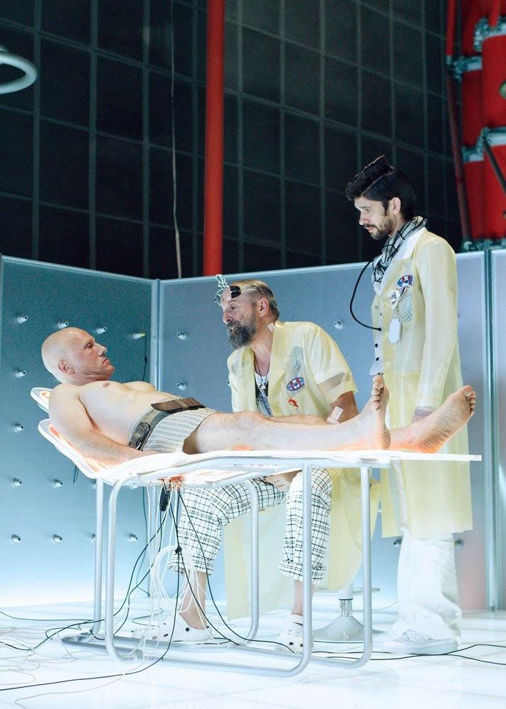 the zero theorem christoph waltz ben whishaw peter stormare