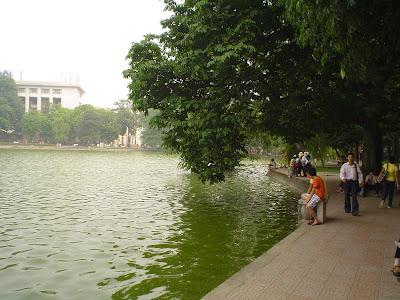 Lago Hoan Kiem, Hanoi, Vietnam