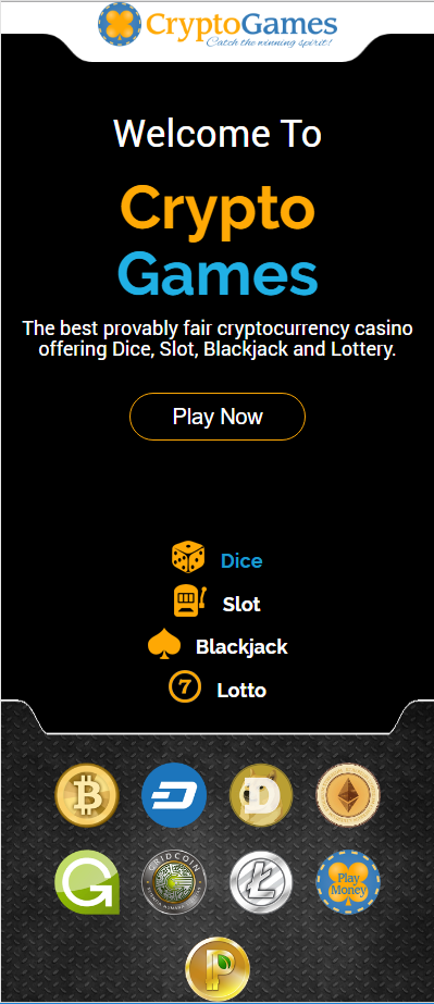 top gambling cryptocurrency