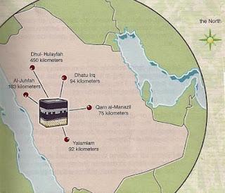 Bulughul Maram Tentang Miqat dan Dimana Tempat Miqat dalam Pelaksanaan Haji