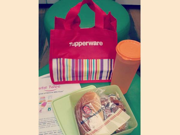 Tupperware Cutie Twee...Dukung Ibu Menyusui&Sahabat Terbaik Ibu Bekerja!