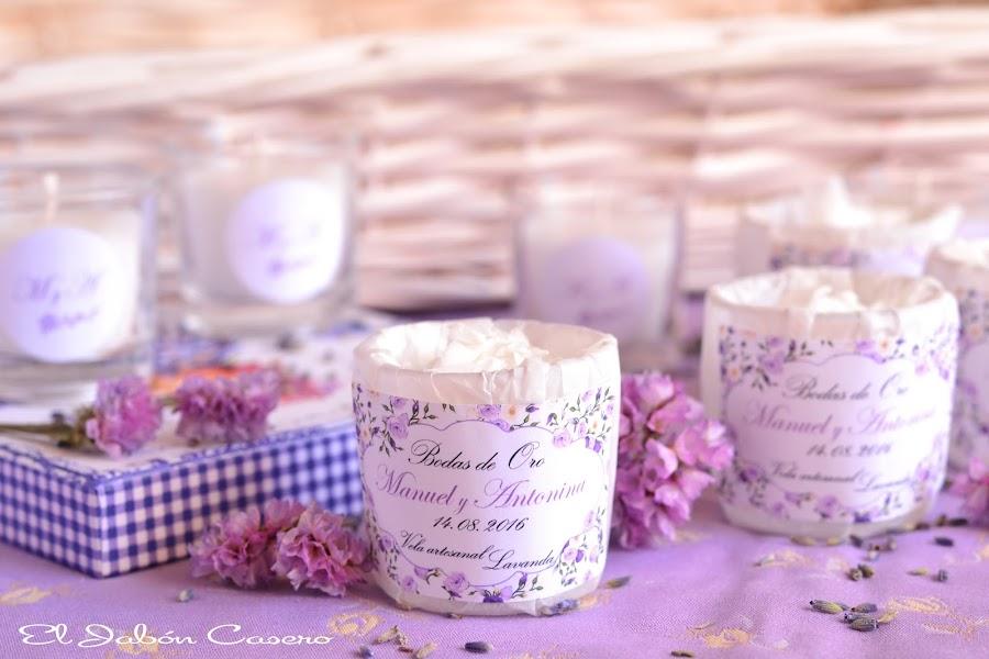 detalles para bodas de oro velas perfumadas