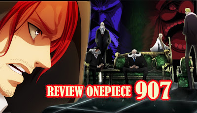 review manga onepiece chapter 907