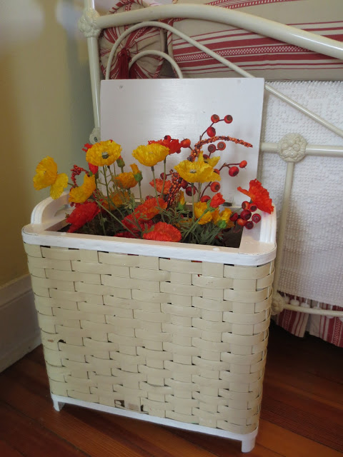 repurposed hamper