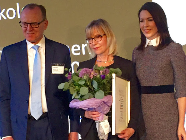Crown Princess Mary of Denmark attended Women's Board Award 2016  ceremony at the Deloittehuset in Copenhagen