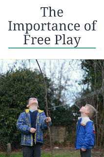 The importance of free play, unstructured play, themummyadventure.com