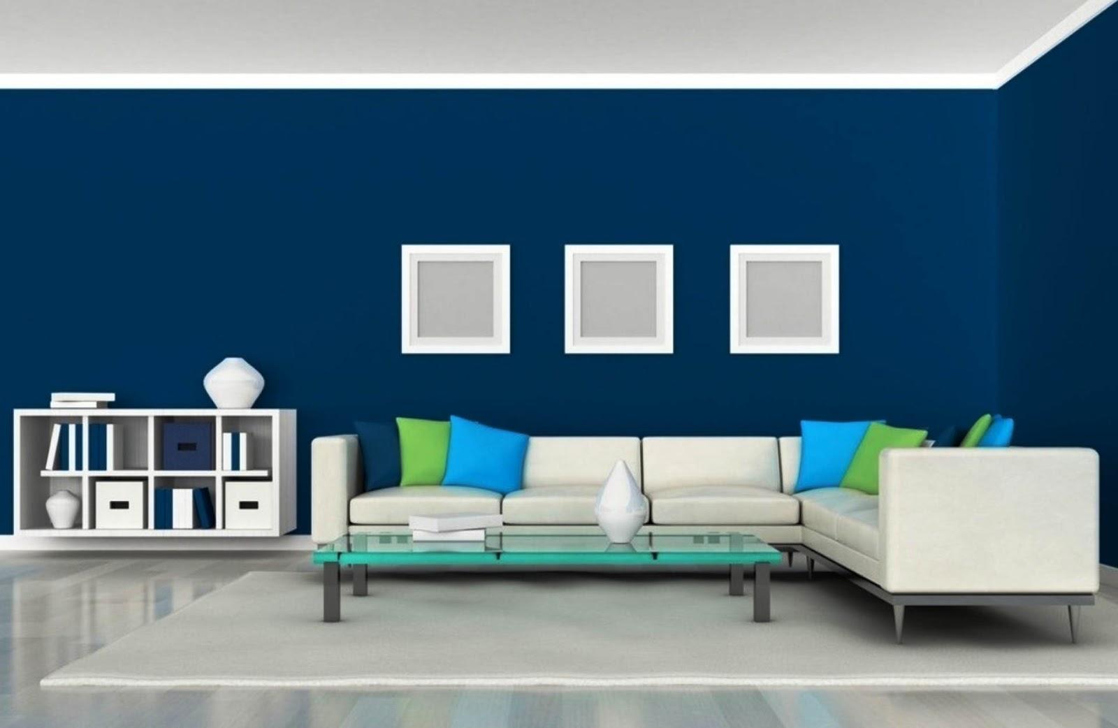 Warna Cat Dinding Ruang Tamu Minimalis Modern