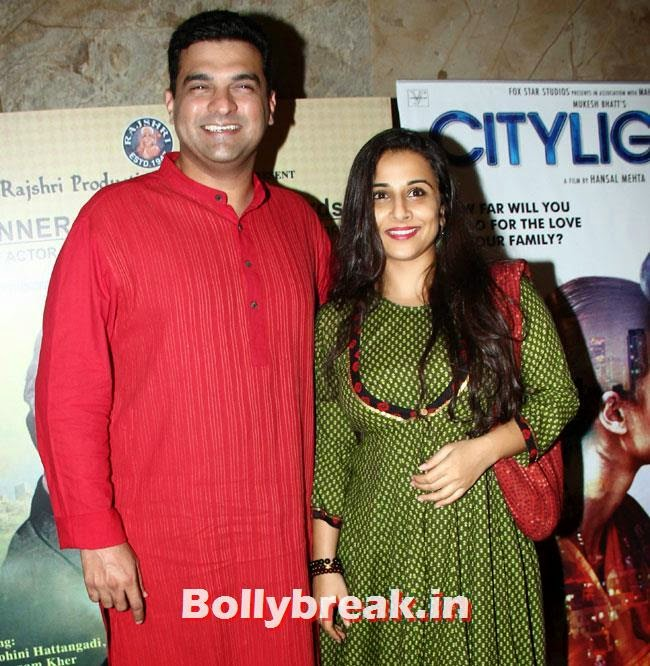Siddarth Roy Kapoor and Vidya Balan
