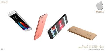 thiết kế dành cho iphone 7