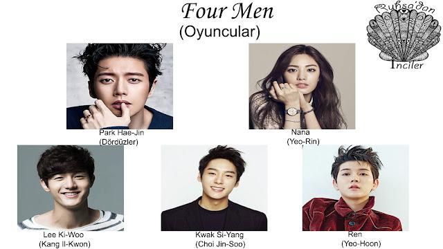 Four Men Konusu ve Oyuncuları