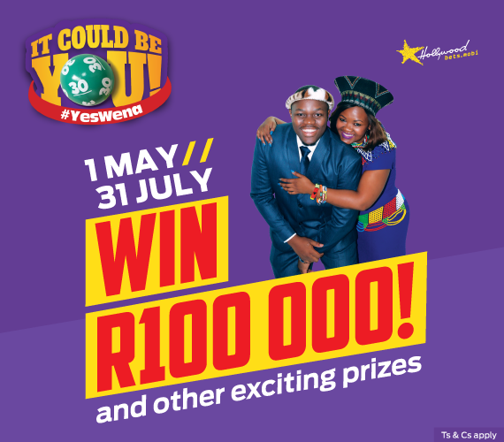 Win R100 000 and other exciting prizes with Hollywoodbets new #YesWena promotion! It could be you!