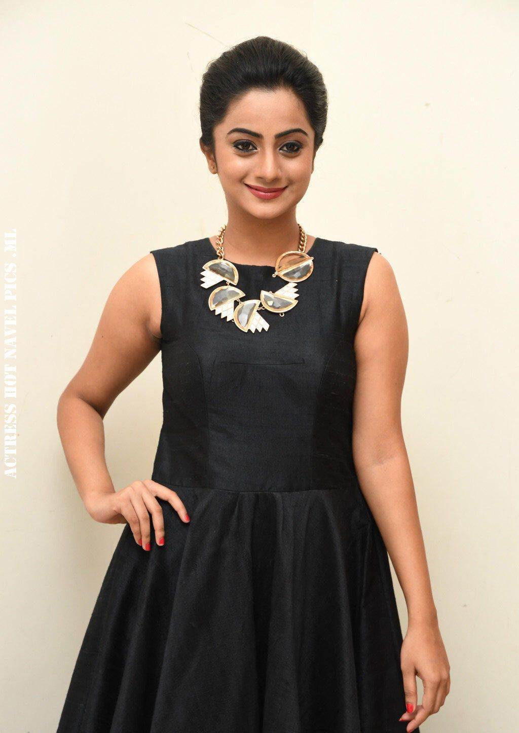 Namitha Pramod Hot Photos in Sleeveless Dress - Actress Mania