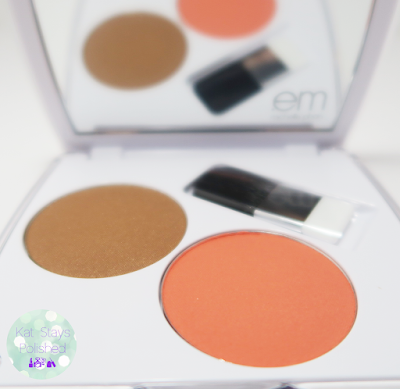 Em Cosmetics | Ipsy - Shade Play Cheek Palette - Peach Charming | Kat Stays Polished