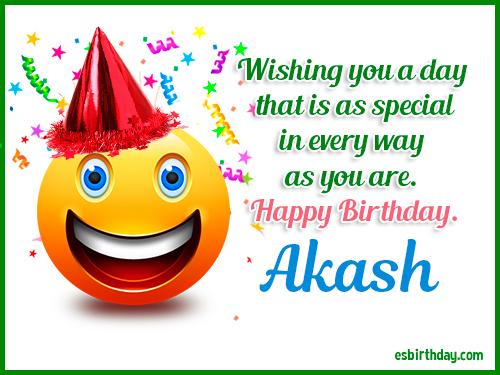 Happy Birthday Akash