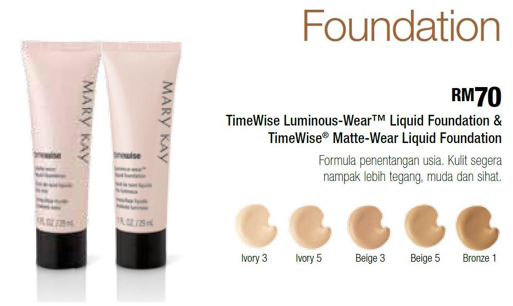 Mary Kay Timewise Foundation Color Chart Homeschoolingforfree