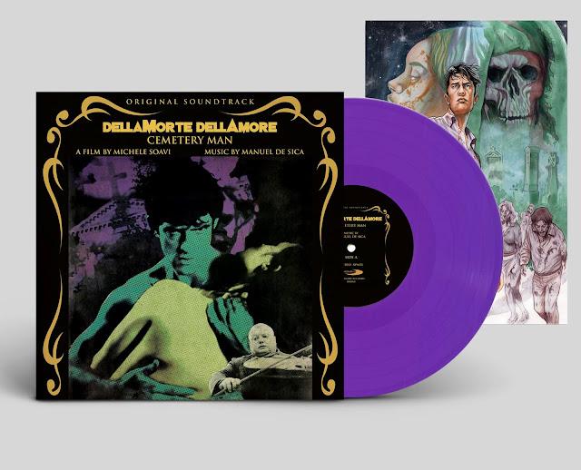 DellaMorte DellAmore (Cemetery Man) Soundtrack Purple Vinyl
