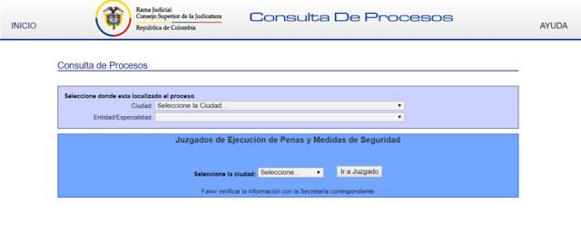 procesos judiciales en Colombia