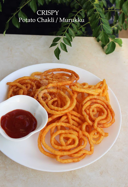 murukku chakle potato fry smiley fry potato snack potato murukku potato chakli crispy snack with potato ayeshas kitchen