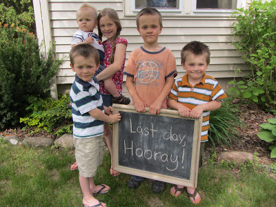 Last Day, Hooray! 2013-Last Day of School Scavenger Hunt. The Unlikely Homeschool