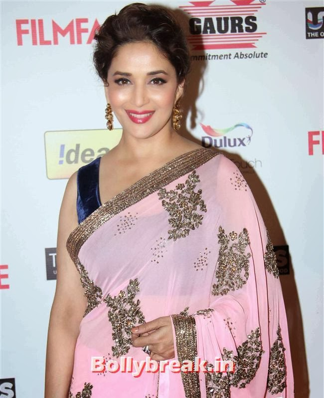 Madhuri Dixit, Bollywood A-List Actresses at 59th Filmfare Pre Awards Party