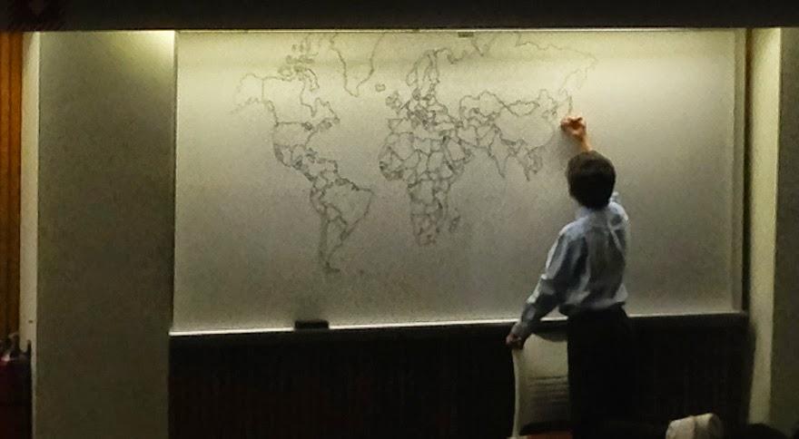 omorfos-kosmos.gr - 11χρονος με αυτισμό σχεδίασε από μνήμης τον παγκόσμιο χάρτη! (Εικόνες)