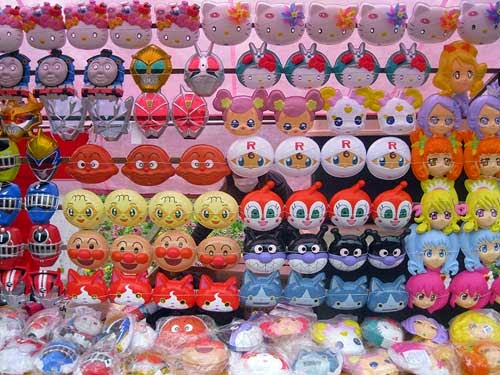 Cute masks are part of the cute culture of Japan.