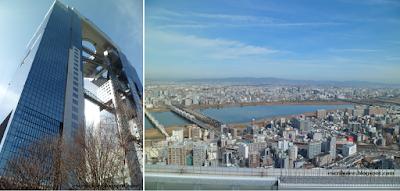 Edificio Umeda Sky y sus vistas