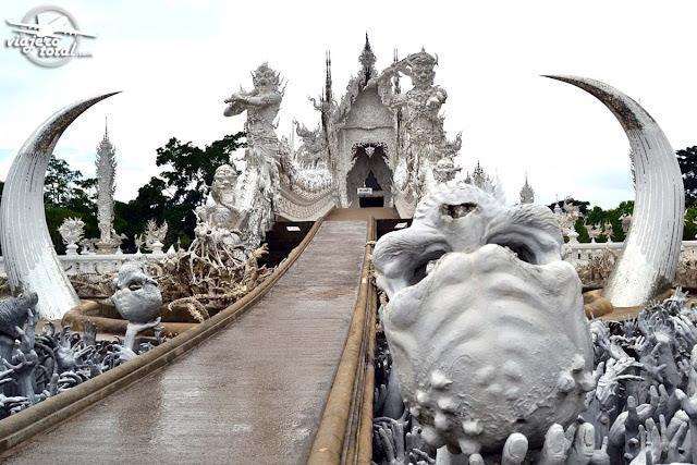 Tailandia - Chiang Rai - Templo Blanco